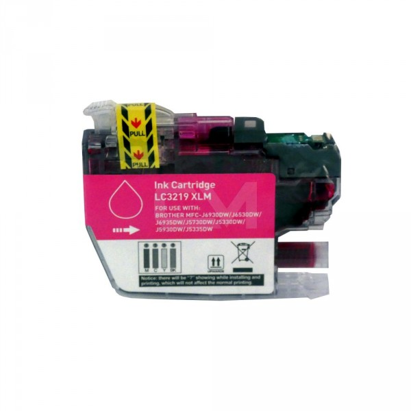 alternative Patrone zu Brother LC-3219 Magenta