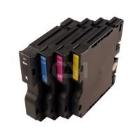 RICOH kompatibles Gel-Tinten Multipack GC 41 BK/C/M/Y