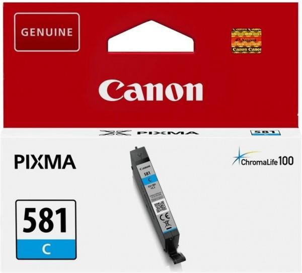 Canon original Patrone CLI-581 Cyan