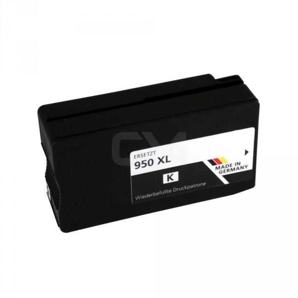 wiederbefüllte Patrone für HP950XL Black