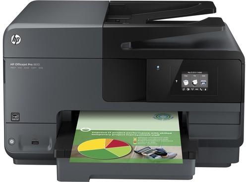 HP Officejet PRO 8610 Front