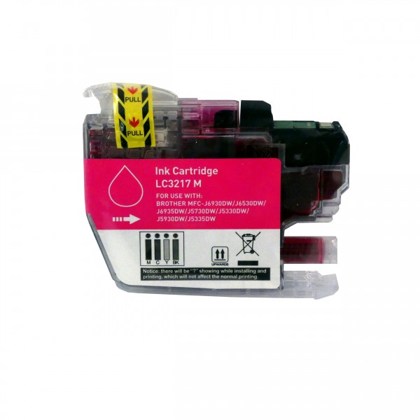 alternative Patrone zu Brother LC-3217 Magenta