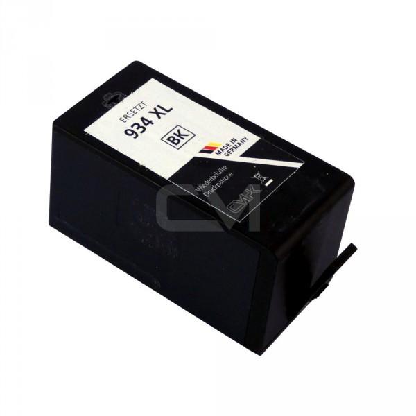 wiederbefüllte Patrone für HP934XL Black