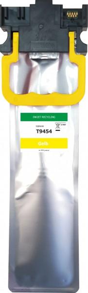 wiederaufbereitete Tintenpatrone zu Epson T9454 - Yellow